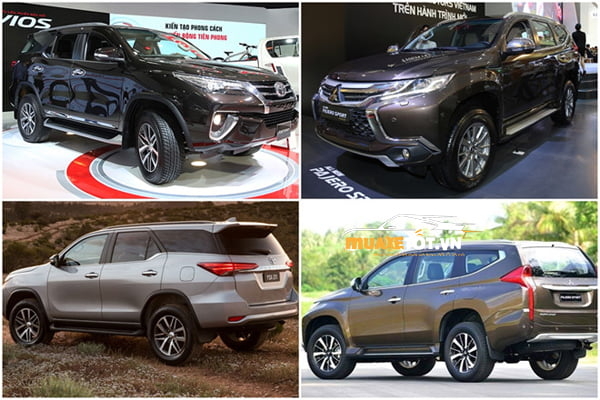 so sanh Fortuner và Pajero Sport anh 8 - So sánh Fortuner và Pajero Sport: phiên bản nào đẳng cấp?