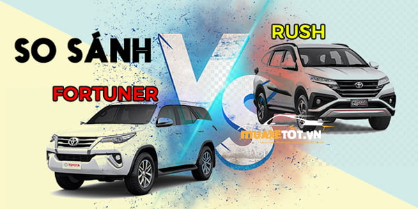so sanh rush va fortuner anh 1
