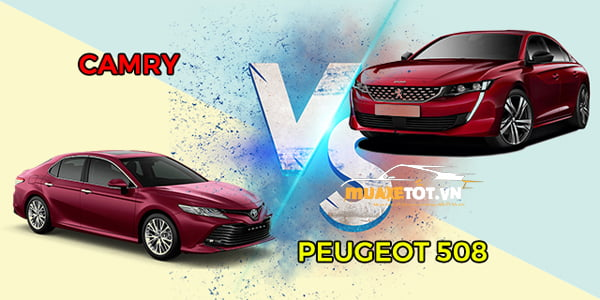 So sanh Peugeot 508 va camry anh 9